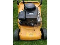 Mcculloch petrol lawnmower, briggs stratton engine