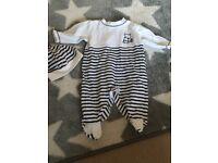 Baby boy branded clothing