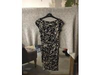 Next Womens Printed Dress Size 6