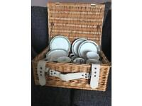 Port Meirion cup and plate set