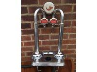 Stella Artois Double / Twin Beer Pump - Man Cave , Home Display , Bar Display - Must Go