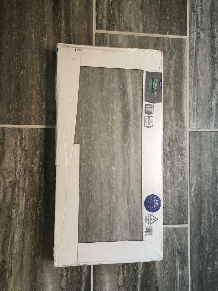 Wall Floor Tiles x 10 boxes - Wickes Everest Porcelain Slate Grey | in  Pulborough, West Sussex | Gumtree