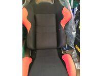 cobra bucket seat brand new old stock cobra reclining seat