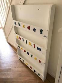 Tidy Books Children's Bookcase in White