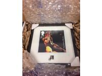LTD EDITION SOLD OUT! Royal Mail David Bowie Live Framed Ziggy Stardust Stamp & Print