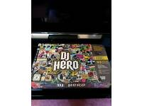 Dj hero + turntable for ps3