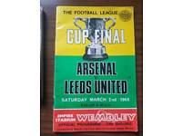 Leeds vs Arsenal football cup final 1968