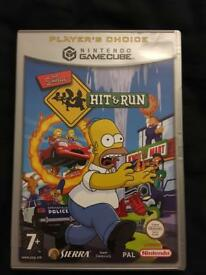 Nintendo GameCube game The Simpson's Hit and Run