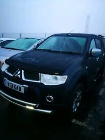 2011 Mitsubishi l200 barbarian blue long wheel base