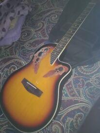 Electro acoustic guitar in prestine condition