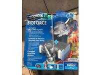 Hozelock biforce pump and filter system