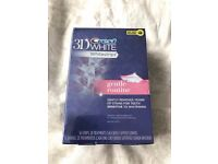 *BRAND NEW SEALED* CREST 3D WHITE WHITESTRIPS GENTLE ROUTINE - TEETH WHITENING KIT // 56 STRIPS
