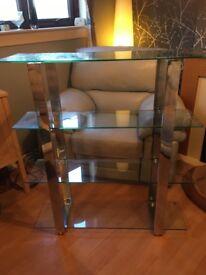 Schreiber glass shelf