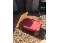 Little tikes Sandpit with cover