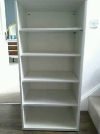 IKEA white storage unit with shelves 120 x 60 x 40cm toys or office or books