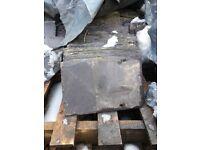 Original welsh roof slates