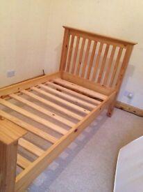 Julian Bowen solid wood large single bed