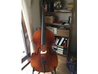 Boosey and Hawkes 400 3/4 size double bass