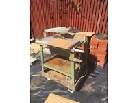 Industrial bench saw
