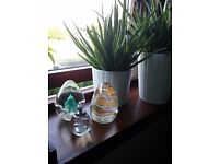 Collection of three Glass Art Paperweights POSTAGE 3.50