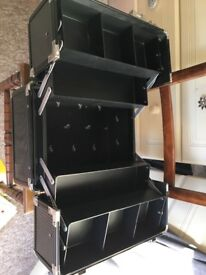 Black make up case, used, good condition