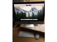 IMac 21.5 2.9GHz quad core i5 8gb ram 1TB drive wireless keyboard & mouse Immaculate and boxed