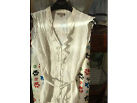 Ladies Embroidered Blouse Size 10