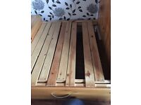 Thukka cabin bed with pull out futon/desk/storage