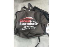 Smart roadster car cover Storm Force by Coverzone 4 layer all weather little used half price bargain