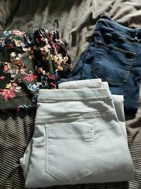 Trousers and jeans size14