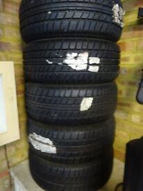 5 x FIRESTONE 205/60/13 TYRES. N.O.S. NEVER FITTED! £200