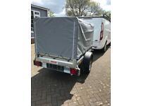 Brand new camping box trailer, car trailer motorbike mobility