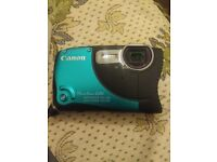 Canon powershot D20 waterproof camera