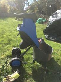 Homegear Electric Garden mulcher shredder
