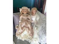 Porcelain dolls £8 or 2 for £15