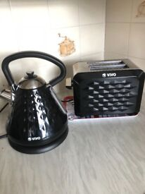 Vivo Kettle and Toaster set