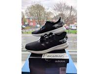 Adidas CLOUDFOAM QT FLEX BLACK DA9528 Size UK 5.5