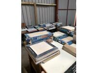 Large quantity of clearance tiles