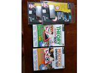 Theory and practical driving test CD's plus free mirrors!