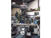 LILIAN MODEL 5VH TURRET MILLING MACHINE