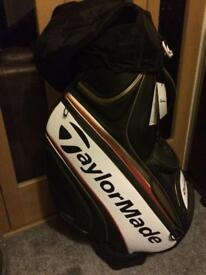 Brand New Taylormade Tour Staff Bag Paul McGinley