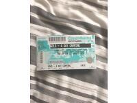 Creamfeilds ticket