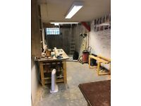 Workshop or storage area avalible. Suite joiner or crafts. Large area avalible.