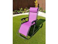 Sunlounger - reclining