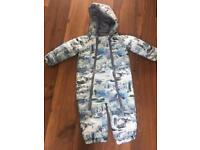 Debenhams 12-18 snow suit like NEW