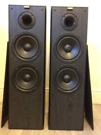 Jamo Cornet 75 Speakers, Crystal Clear High Quality Sound With Deep Bass, Working Condition.