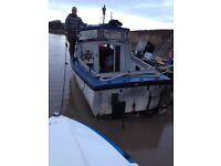 Boat seafarer 21