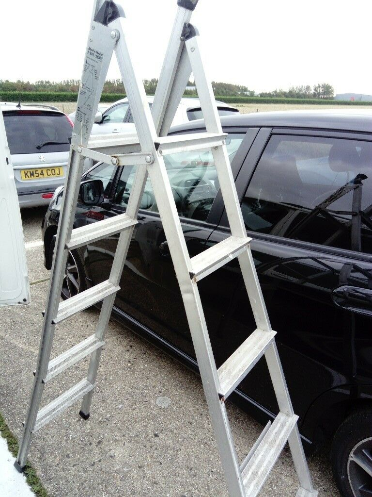 Step ladder 3 way Black and Decker