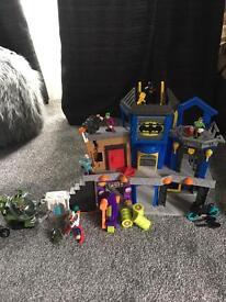 Imaginex batman and marvel toys
