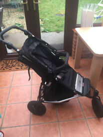 Mountain Buggy Swift (Black) in Excellent Condition
